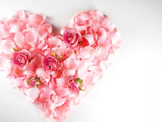 heart,flower